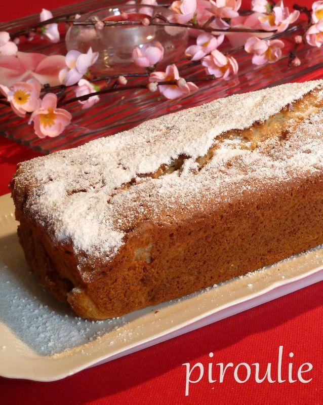 Cake aux pêches de Sophie