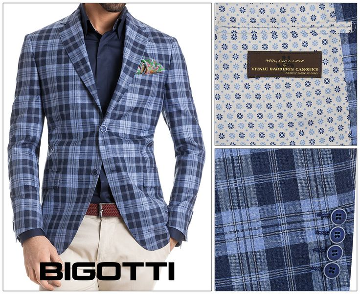 #Jacket is the #piece, that, by its #simple presence, bring the #outfit to a #higher #level of #elegance. #Excellent #quality of #fabrics (100 % #made ​​in #Italy ), #masterfully #executed #details, #printed #lining that #individualize the #style and buttons from #natural #materials are some of the #assets of #Bigotti #models . Come now to #choose your #favorite #jacket in #Bigotti #men #clothing #stores or on https://www.bigotti.ro/sacouri-barbati