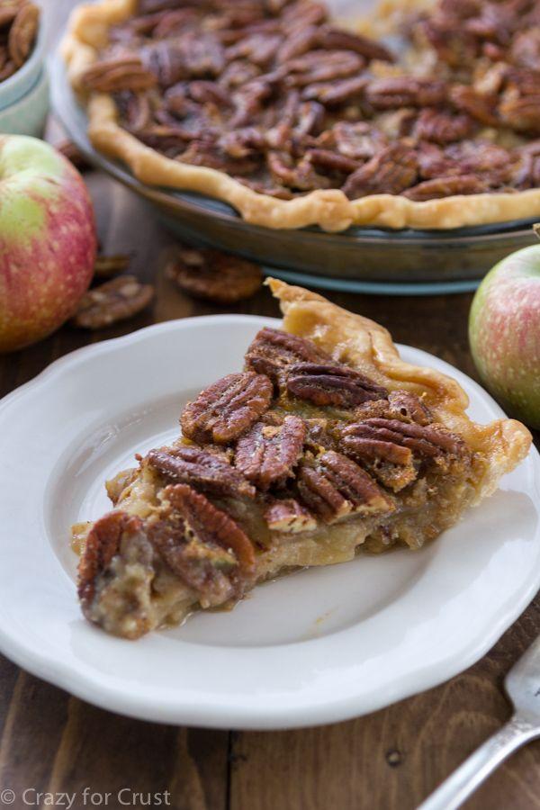 Apple Pecan Pie is the best of both worlds: Apple Pie and Pecan Pie!