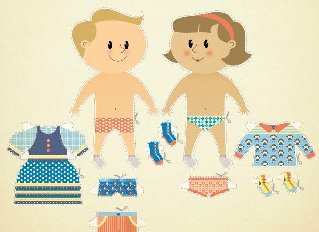 """A definição das cores """"certas"""" para cada gênero surgiu só no início do século 20. E era o inverso da atual! Um catálogo de roupas dos EUA de 1918 dizia que o rosa, por ser mais forte, era adequado aos garotos. E o azul, por ser delicado, às garotas! Foi só entre 1920 e 1950 que as lojas começaram a sugerir azul para eles e rosa para elas, como forma de agitar as vendas. Essa imposição social tem sido reforçada desde então."""