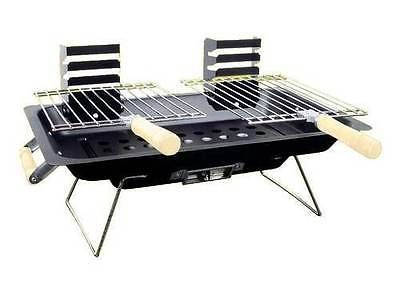 Portable #steel #hibachi bbq #grill for gardens/picnics/beach/camping/caravanning,  View more on the LINK: 	http://www.zeppy.io/product/gb/2/231243111426/