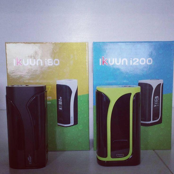 Looking for a nice inbuilt battery mod? Eleaf iKuun i80 & Eleaf iKuun i200 now in stock at Vapora.