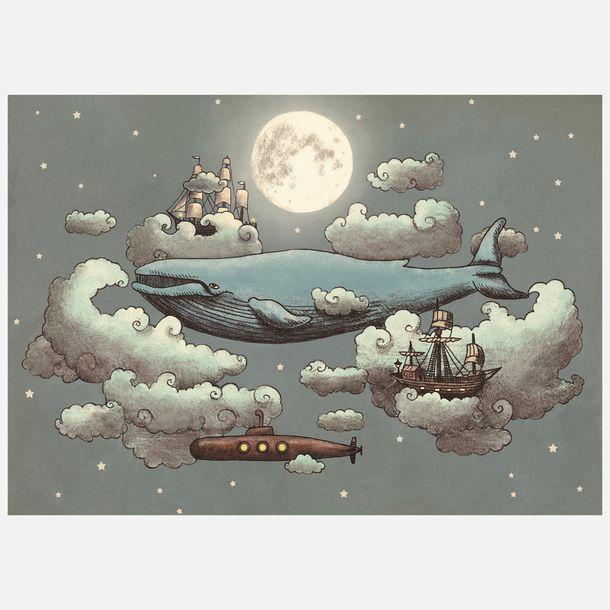 Ocean Meets Sky Canvas