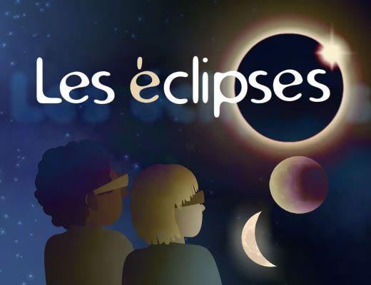 Une activité interactive pour comprendre les éclipses. Trois étapes composent ce module. La première nous aide à comprendre le système Soleil - Terre - Lune à travers les différentes phases de la Lune. Les deux suivantes permettent de simuler une éclipse lunaire puis une éclipse solaire. Ces deux types d'éclipse se produisent et dépendent de la position de la Lune par rapport au Soleil et à la Terre.