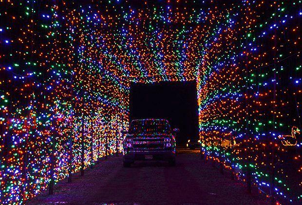 A DriveThru Light Bonanza at Skylands Stadium Christmas