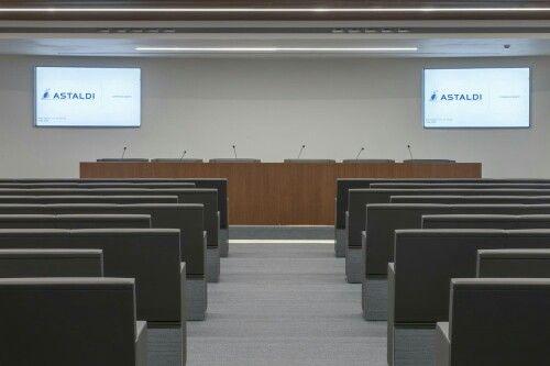 Sala conferenze ASTALDI Arch Maria Carfagnini