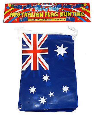 12ft australia #australian #aussie day party decorations #bunting flags f30 585, View more on the LINK: http://www.zeppy.io/product/gb/2/351630500234/