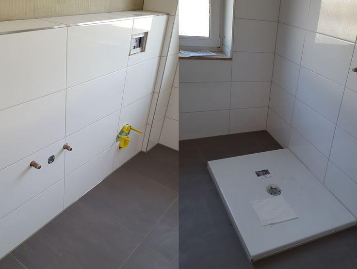 renovierung meines bathroom badezimmer dunkle bodenfliesen und helle wandfliesen - Fantastisch Bad Dunkle Bodenfliesen Helle Wandfliesen