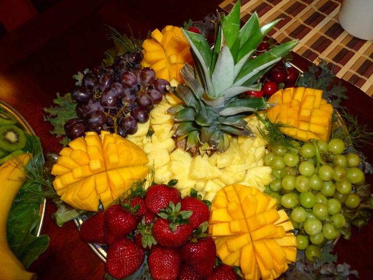Tropical Fruit Platter Ranys Kitchen Pinterest