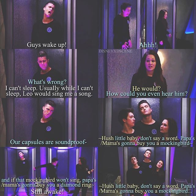 + Lab Rats: Bionic Island S4E20-21 Lab Rats: On the Edge - The duet lullaby of Bree and Chase is everything I live for -wing