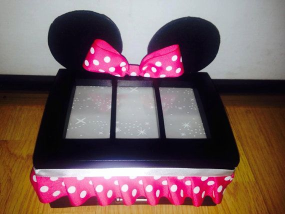 10 best images about absence on pinterest disney for Minnie mouse jewelry box