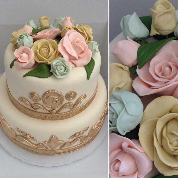 Rosas cake