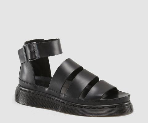 Innovative Dr Martens Womens Cyprus 2Strap Sandal Sandals In Black Cartegena