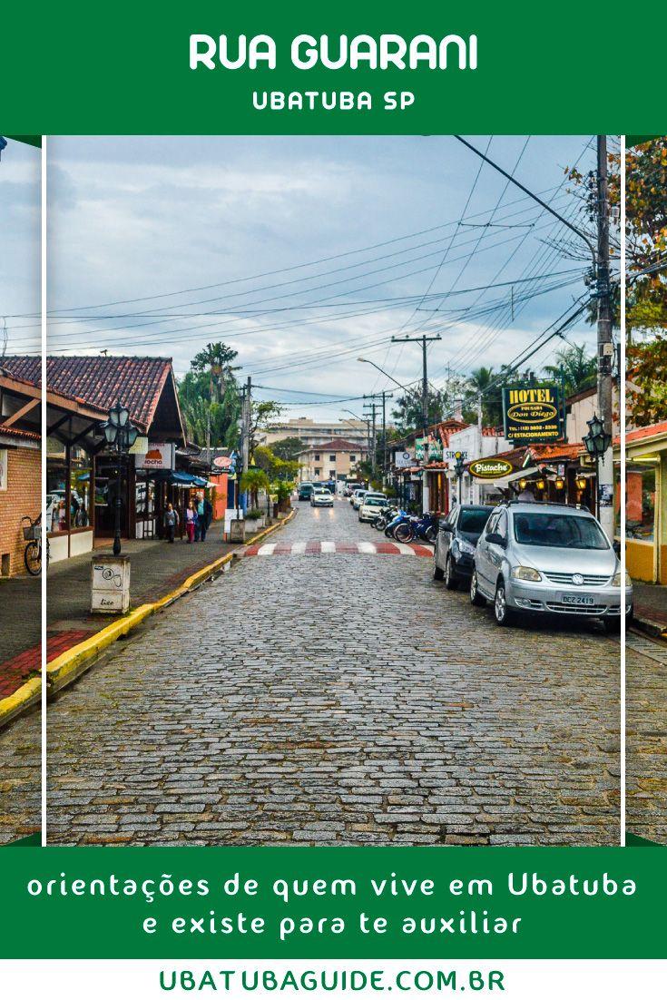 Rua Guarani Ubatuba Shopping A Ceu Aberto Na Regiao Central Com