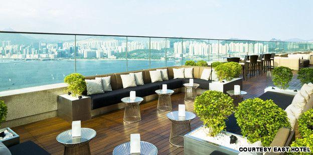 50 stunning rooftop bars and restaurants. Photo: Sugar, EAST Hotel, Hong Kong.