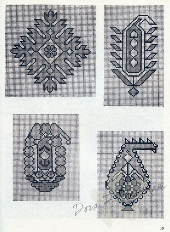 Gallery.ru / Фото #10 - Persian Rug Motifs for Needlepoint - Dora2012
