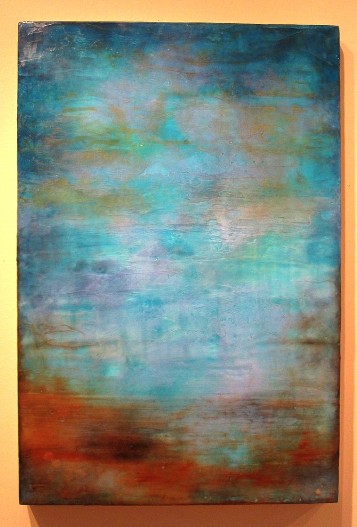 Encaustic Painting - I need to take one of these classes. Painting with colored wax.