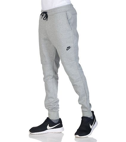 NIKE Athletic sweatpants Elastic waistband closure Adjustable drawstring for ultimate comfort 2 side pockets 2 zip back pockets Stretch