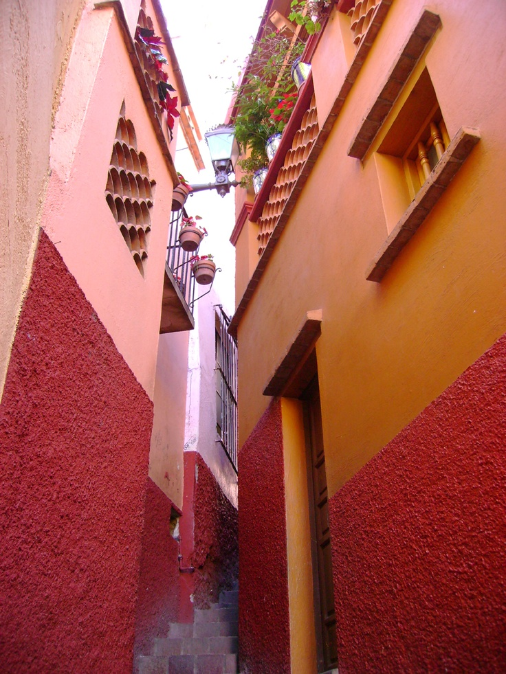 Callejon del beso en Guanajuato: been there, done that!