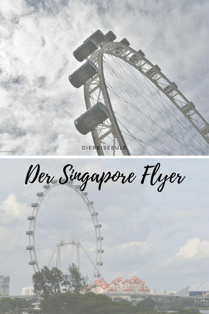 Wahrzeichen der Stadt ist der Singapore Flyer, ein Riesenrad der Superlative, war es doch lange Zeit das größte Riesenrad der Welt