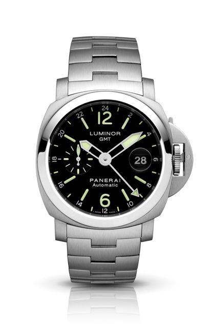 Luminor GMT Automatic Acciaio PAM00297 - Kollektion LUMINOR - Uhren Officine Panerai