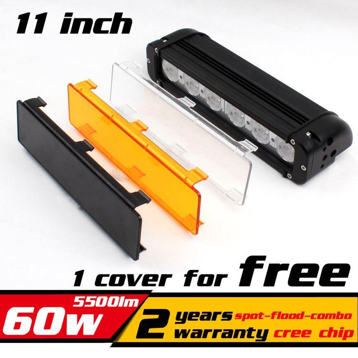 "11"" 60W LED Work Light Bar for ATV 4X4 Combo LED Offroad Light Bar Tractor offroad Fog light Work Light Seckill 36w 72W"