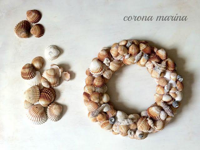 corona Marina, corona de conchas