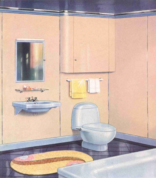 25+ Great Ideas About Retro Bathrooms On Pinterest