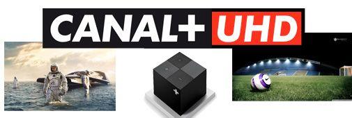 Le groupe Canal+ proposera en 2016 une chaîne dédiée à la diffusion de contenus #UltraHD. Son nom ? Canal+ #UHD bien sûr ! | #Canal+ #UHD #TV