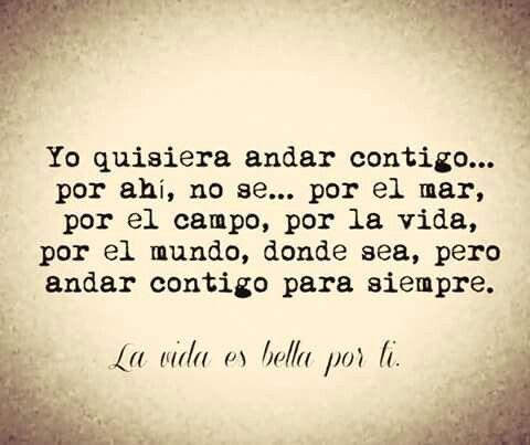 Siempre contigo....