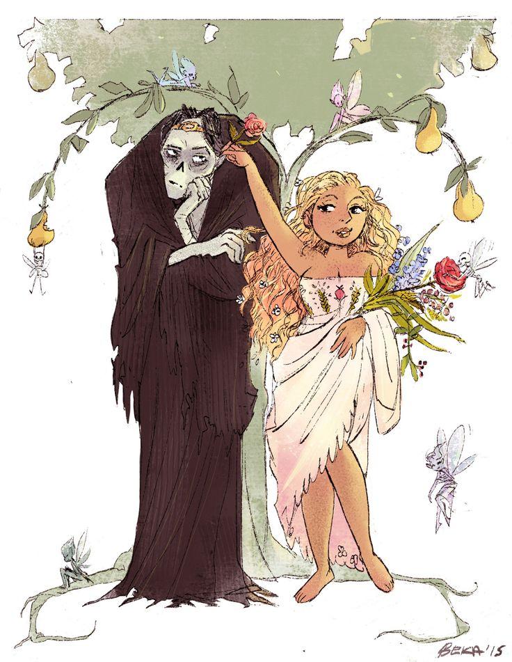 Persephone Comic Persephone & Hades...