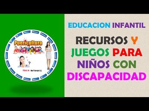 Juegos para niños con discapacidad visual auditiva intelectual cognitiva fisica…