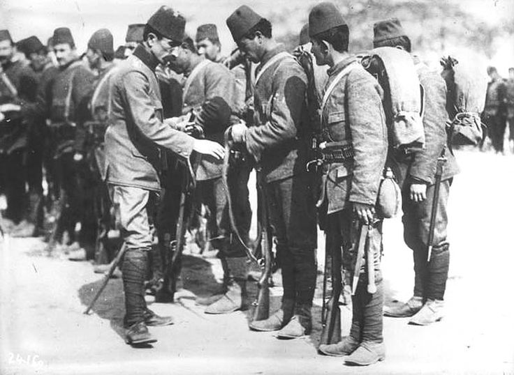 Ottoman Soldiers.