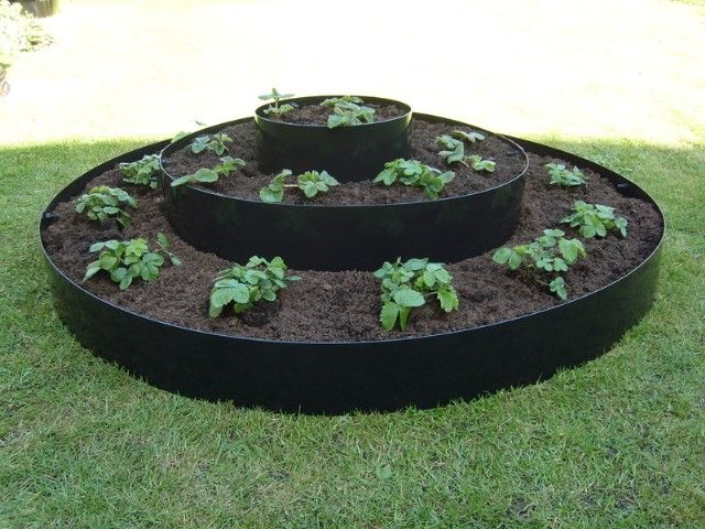 Large Tiered Circular Raised Bed   D1.15m