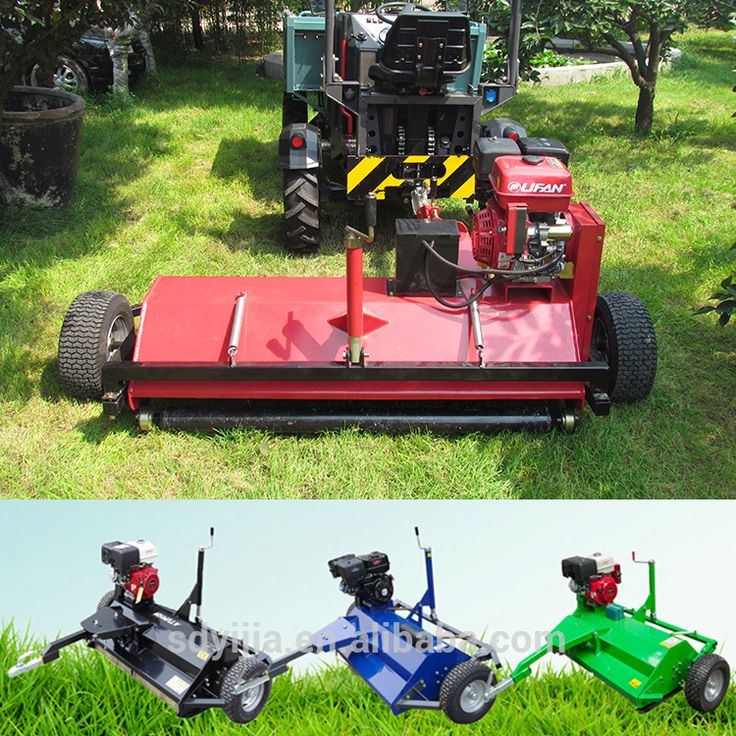 CE approved Farm equipment 15hp atv mower for sale