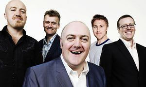 Mock the Week's cast of regulars in 2008