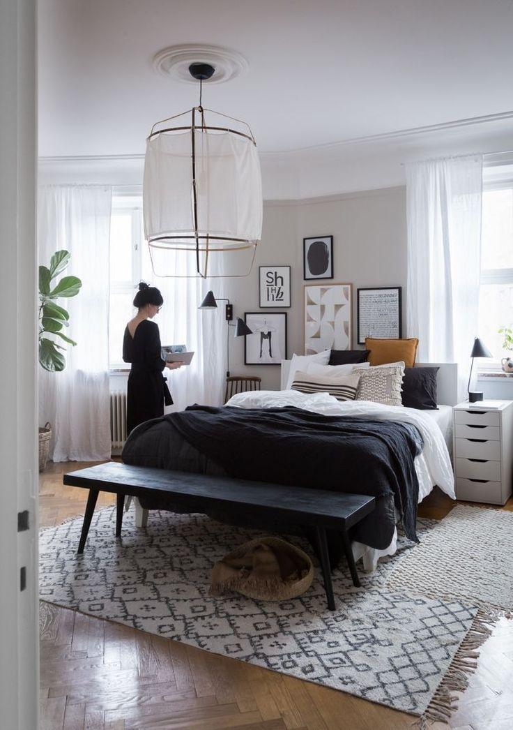 44 Modernes Schlafzimmer-skandinavisches Dekor fü…