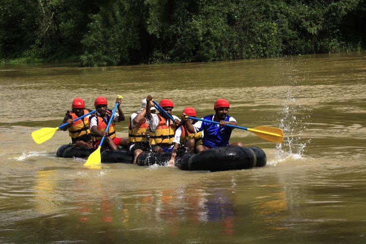 Rafting at Splash Wayanad