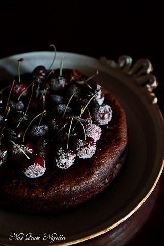 Chocolate Whisky Cake (Gluten Free)