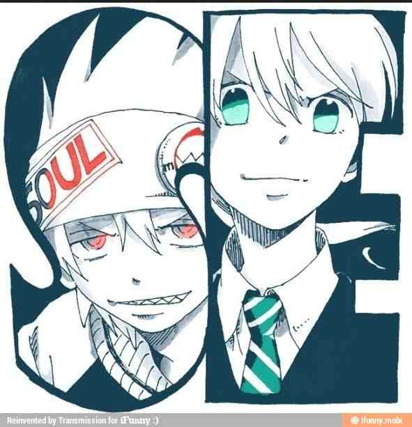 Maka and Soul from Soul Eater