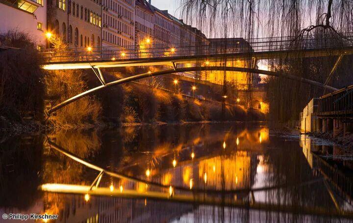 The Karl Heine Canal in Leipzig. © Philipp Kirschner