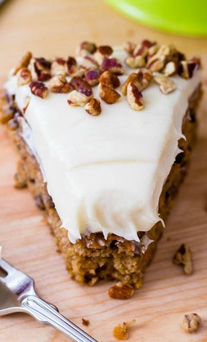 Super-Moist Carrot Cake recipe - absolutely my favorite and can easily be made into cupcakes!