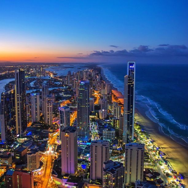Q1 Gold Coast - Resort And Spa, Benowa, Australia — by Garry Norris. High above Surfers Paradise