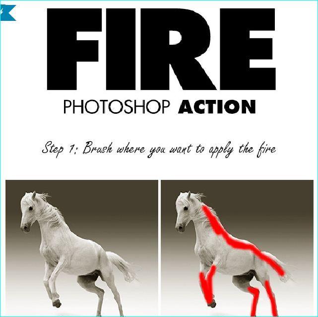 25 Popular Photoshop Action Files