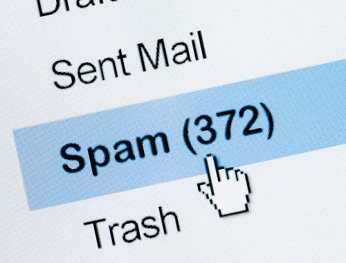 how to avoid spam emails