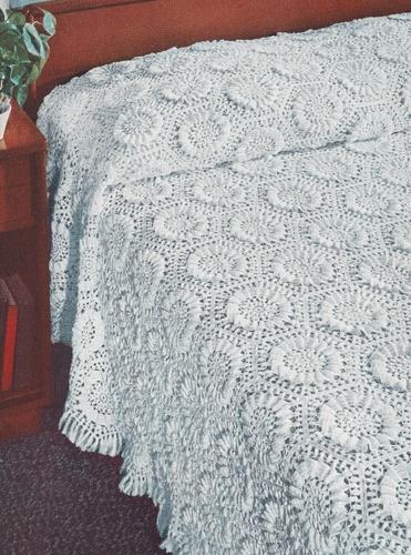 Crochet Cotton Bedspread Patterns