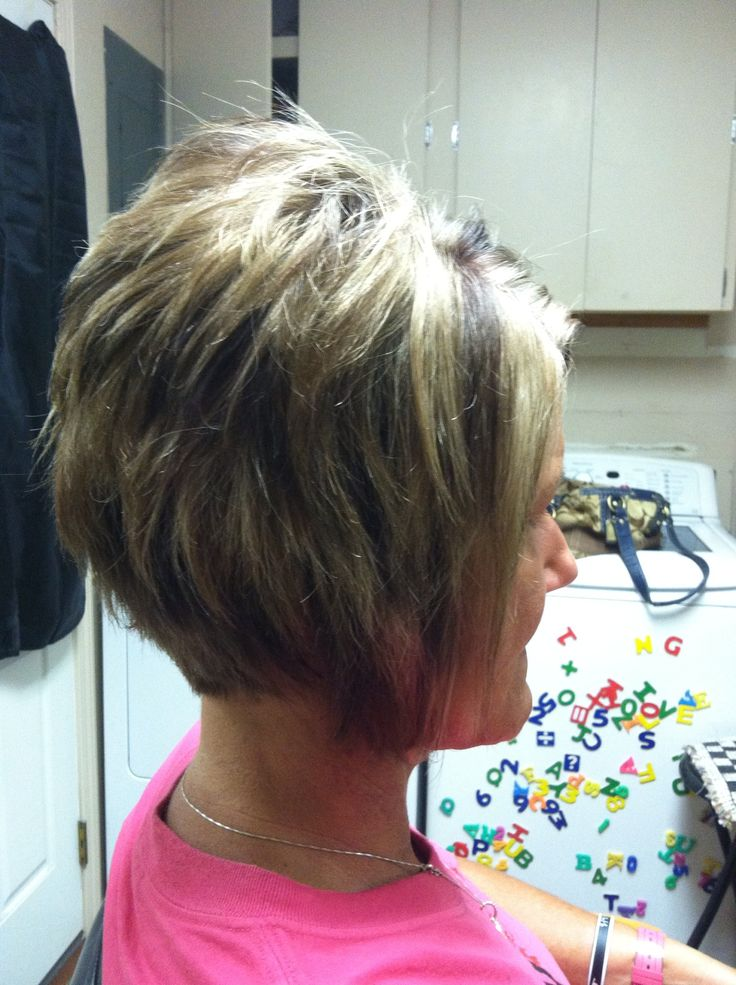 Layered Angled Bob Hair Designs By Me Pinterest