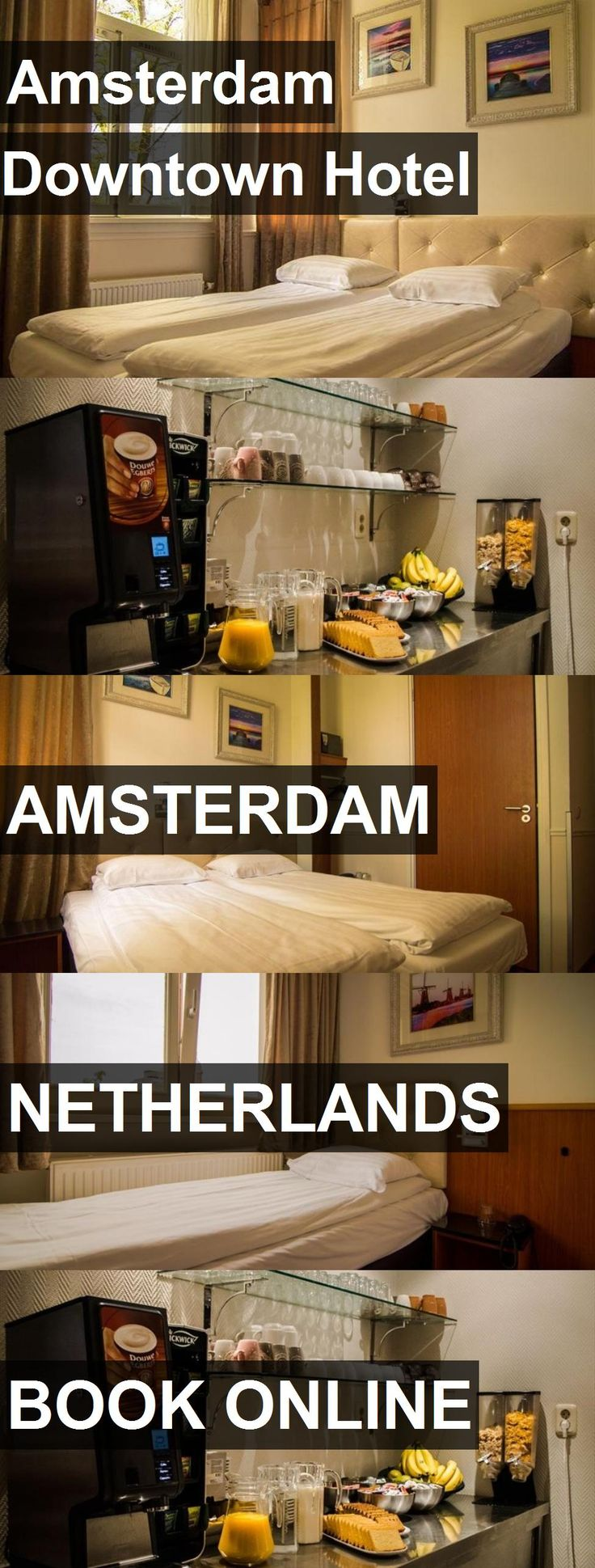 Amsterdam Downtown Hotel in Amsterdam, Netherlands. For more information, photos, reviews and best prices please follow the link. #Netherlands #Amsterdam #travel #vacation #hotel