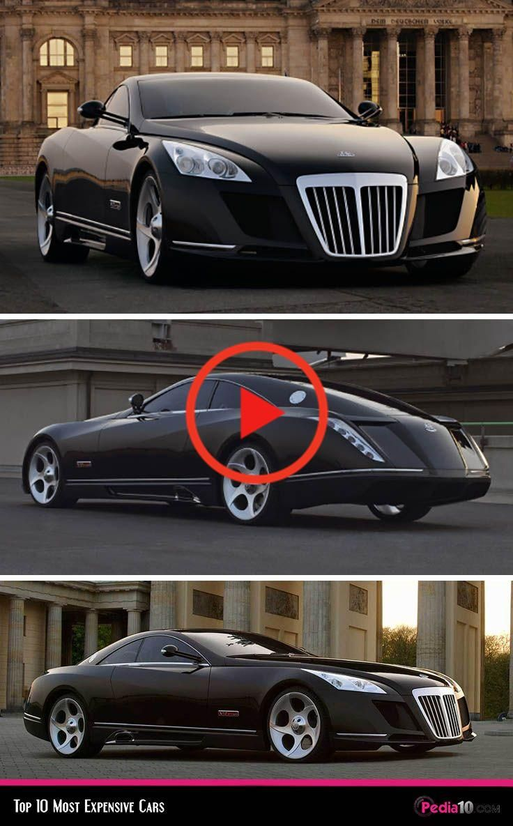 Mercedes Benz Maybach Exelero Most Expensive Car In The World Top Ten Most Expensive Cars In 2020 Expensive Cars Mercedes Benz Maybach Maybach Exelero