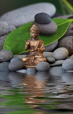 *❤* Buddha~golden water